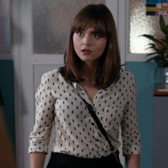 Topshop Tops Double Diamond Clara Oswald Doctor Who Pll Poshmark